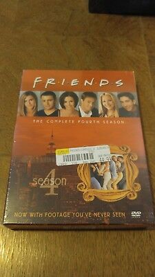 Friends - The Complete Fourth Season (DVD, 2010, 4-Disc Set) BRAND NEW SEALED