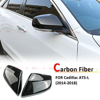 2014-18 For Cadillac ATS-L Carbon Fiber Inner front dashboard adorn cover trim*1