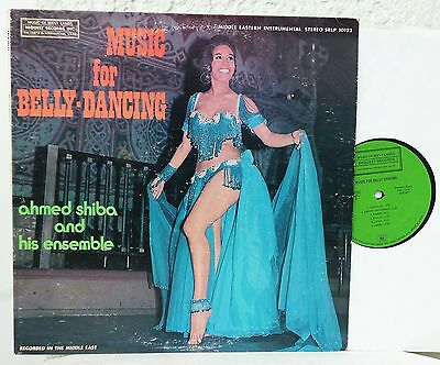AHMED SHIBA - Music for Belly-Dancing  Lp  Oud  Iraq Irak