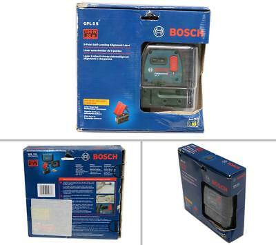 Bosch GPL 5 S Professional 5 Point Self-Leveling Alignment Laser