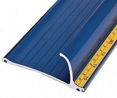 55'' Bada Bing Blue Safety Ruler With Stainless Cutting Edge
