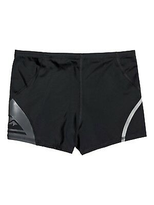 59a4eebcd9 Quiksilver Mens Swim Shorts.mapool Deluxe Black Swimming Trunks Swimmers 9S  21 K