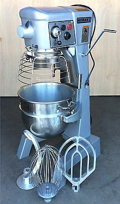 Reconditioned Hobart 3/4Hp 30Qt Mixer, Paddle Whip Hook Bowl, Timer, Bowl Guard