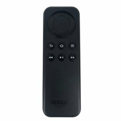 CV98LM Replacement Remote Control for Amazon Fire TV Stick Black