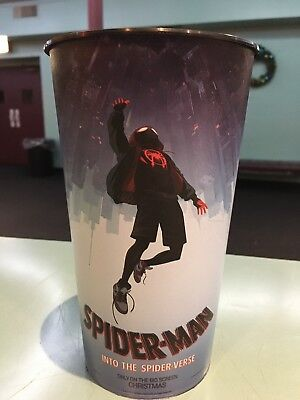 Spider-Man: Into The Spider-Verse 44oz Plastic Theater Cup Brand New