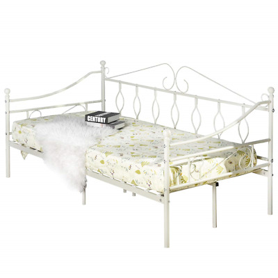 Aingoo Metal Daybed Bed Frame Single Size Day Steel Slat with Strong Legs...