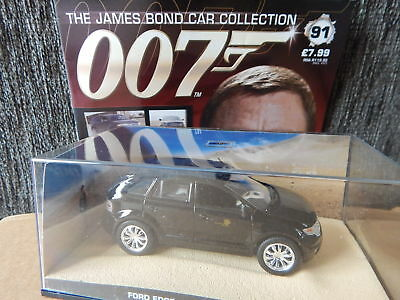 Eaglemoss James Bond Car Collection  Ford Edge Quantum Solace