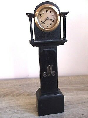 Vintage Miniature Grandfather Clock working