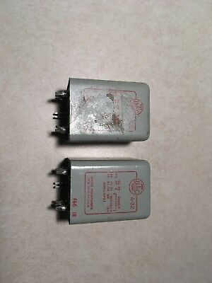 Pair, UTC Type A-32 Audio Interstage Transformers