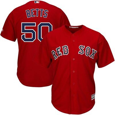 MLB Baseball Trikot Jersey Mookie Betts Boston Red Sox Herren Sport Shirt