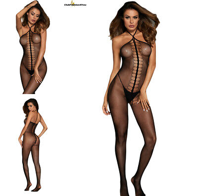 Hot Reizwäsche Fishnet Body Stocking Catsuit Netz Body Unterwäsche |H| 790046-2