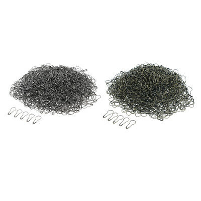1000 Pcs Metal Gourd Safety Pins Tag Wire Bulb Calabash Pin Bead Needle Pins