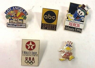 1996 Atlanta USA Olympics And Others Five (5) Pins Lot34