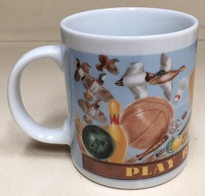 1992 Coca Cola Company Play Refreshed Coffee Tea Cup Mug Drink Coca Cola