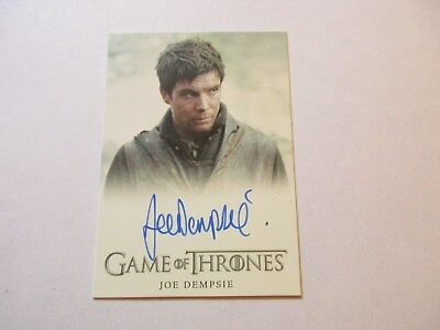 Game of Thrones Season 7 - Joe Dempsie as Gendry Autograph Card