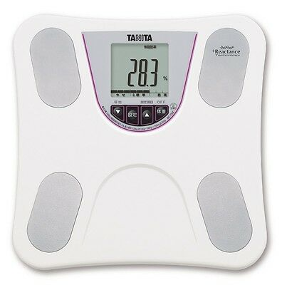 New TANITA Body Composition Monitor White BC-754-WH Digital Scale With Tracking
