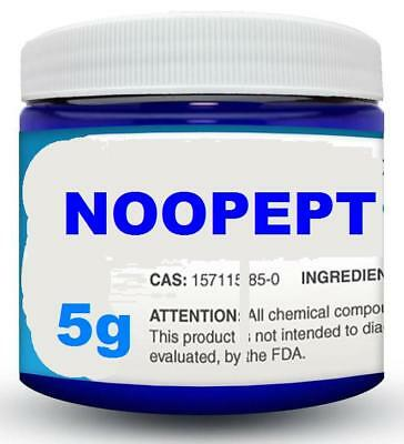 5g NOOPEPT POWDER jar + microScoop < Fast Shipping >