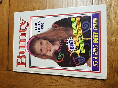 BUNTY FOR GIRLS 1995 Annual