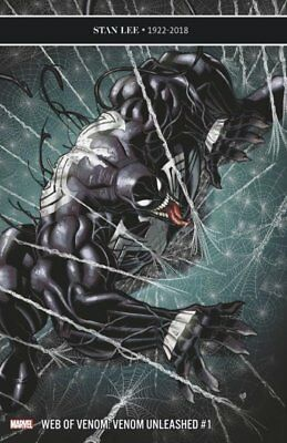 Web of Venom: Unleashed #1 Variant Cover STOCK PHOTO Marvel Comics 2018
