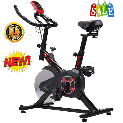 Pro Stationary Exercise Aerobic Bicycle Bike Cycling Cardio GYM Workout Fitness