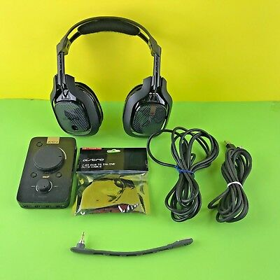 ASTRO  A40 TR GAMING Tournament Ready Headset w/ MixAmp™ Pro for PS4, PC #77BVA