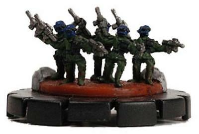 Mechwarrior Counterassault Special Forces Team #001 - Green NM