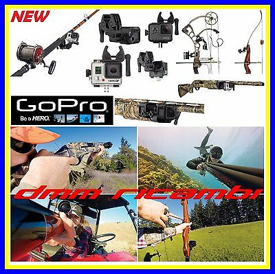 Supporto GOPRO Sportsman Mount Fucile Arco Canna  HERO 5 4 3 2 Session originale