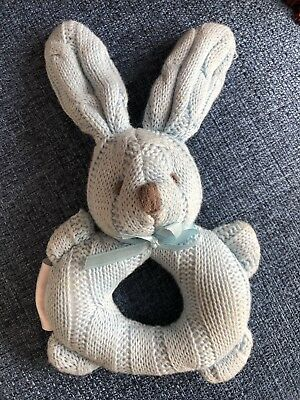 Sheridan Baby Rattle. Knitted.
