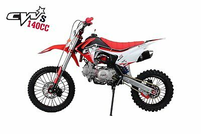RED & WHITE CRF110 Plastics For Pit Bike  WBP LMX CW UIT - £32 99
