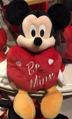 "Mickey Mouse Valentines Day Plush 11"" 2019 Walt Disney World Theme Parks NEW"