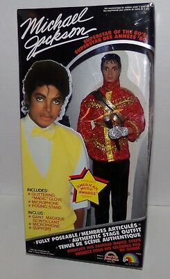 Michael Jackson America Music Awards Outfit Doll Superstar of the 80's Canadian