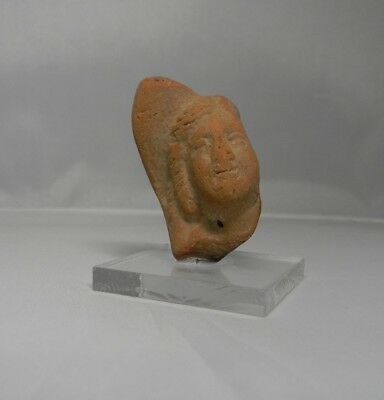 Ancient Egyptian Ptolemaic terracotta fragment believe to be Alexander,3/4thCen