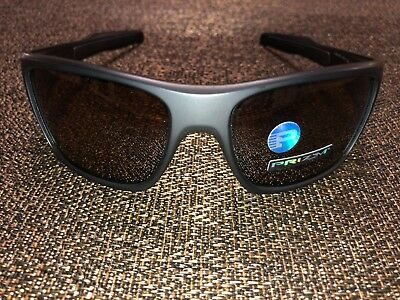 Oakley New Sunglasses TURBINE Matte Black Prizm Tungsten Polarized  OO9263-4063 77b46d390655