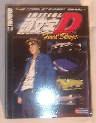 Initial D First Stage Complete First Season 9 Dvd Box Set Anime Very Good Cond