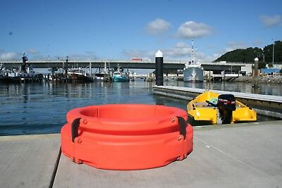 Pile Ring 400-Orange Revolutionary All-tide Boat Mooring Device All-Weather