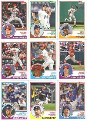 2018 Topps Update 1983 Topps Baseball 35Th Inserts W/rc's ***you Pick***