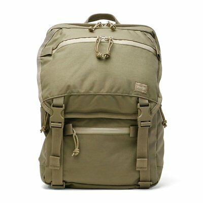 5aee2bda4a Yoshida Porter Klunkerz Day Pack S 568-08173 Beige Casual Made in Japan F