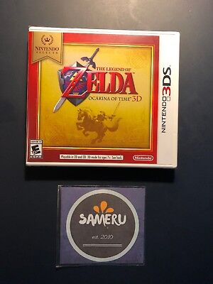 New Legend Of Zelda Ocarina Of Time 3D Nintendo Selects 3Ds Sealed Fast Shipping