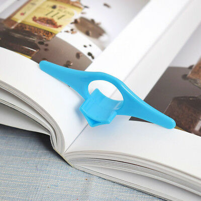 1Pc Multi-function Thumb Book Holder Bookmark Finger Ring Bookmark For Reading