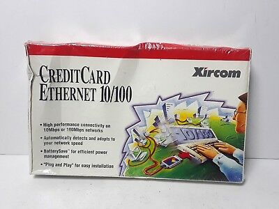 Xircom Credit Card Ethernet 10/100 PC Card for Portable PCs CE3B-100