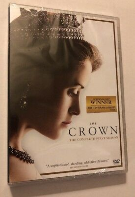 The Crown COMPLETE FIRST SEASON *New* Sealed DVD SET