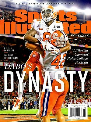 """Sports Illustrated 2019 """"Dabo's Dynasty"""" Clemson Tigers - Commemorative Issue"""