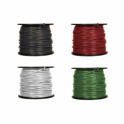 8 AWG Gauge THHN THWN Copper Conductor Building Wire 600V Black Green Red White