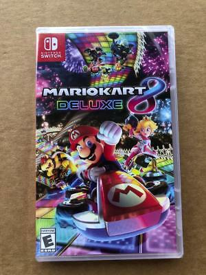 Mario Kart 8 Deluxe Nintendo Switch Video Game NEW SEALED