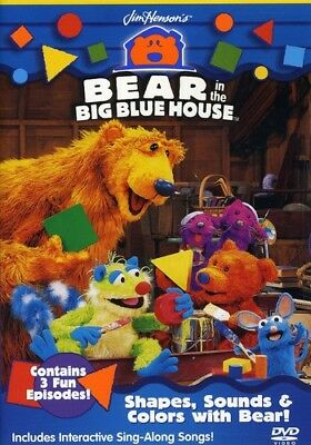 Bear in the Big Blue House: Shapes, Sounds & Colors With Be (DVD Used Very Good)