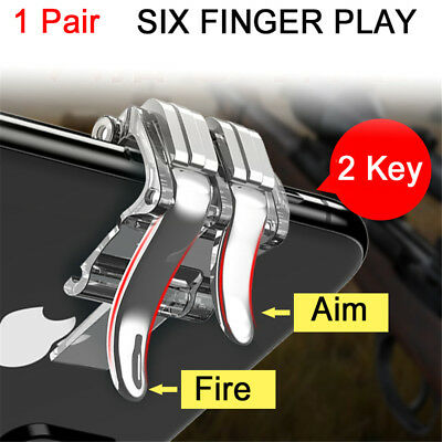 Button Phone Gamepad Shooting Trigger Cellphone Game Controller PUBG Mobile