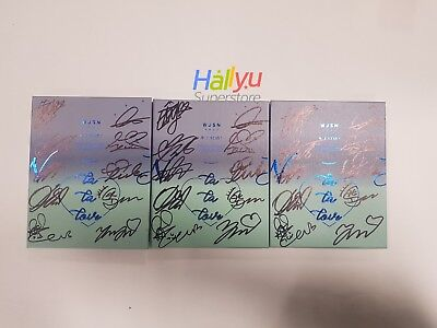 "WJSN (Cosmic Girls) -  ""WJ STAY?"" 5th Mini - Autographed(Signed) Promo CD (3.08)"