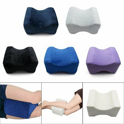 2019 Memory Foam Leg Pillow Cushion Knee Support Pain Relief Washable Cover OD
