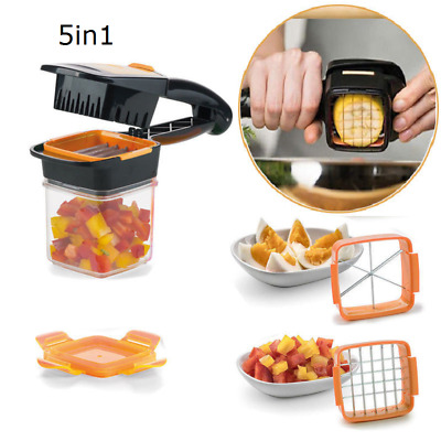 5 in 1 alimentaire fruits Légumes Cutter Slicer Chopper Nicer Quick Dicer Fusion