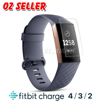 3x Fitbit Charge 3/ Charge 2 Compact TPU Hardness LCD Screen Protector Real Film